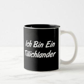 Ich Bin Ein Tillichlander Two-Tone Coffee Mug