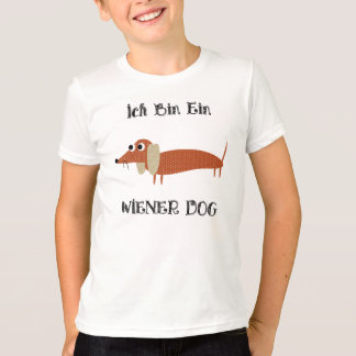 Ich Bin Ein Wiener Dog I Am A Dachshund T-Shirt