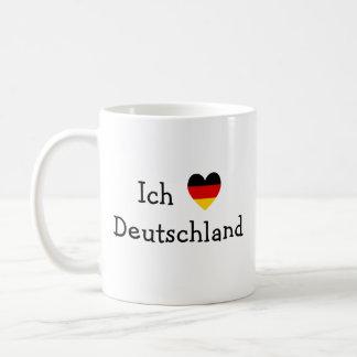 Ich liebe Deutschland Coffee Mugs