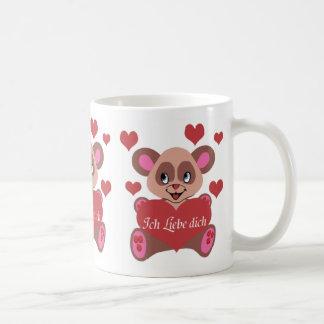 Ich Liebe Dich Basic White Mug