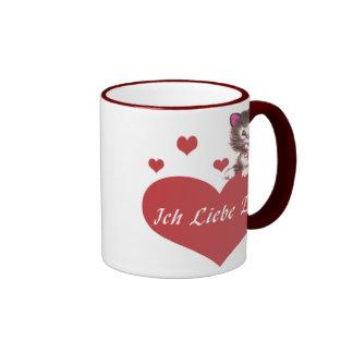Ich Liebe Dich Ringer Mug