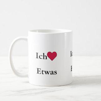 Ich Liebe (Etwas) Basic White Mug