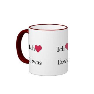 Ich Liebe (Etwas) Coffee Mug