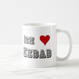 Ich Liebe Kebab Coffee Mug