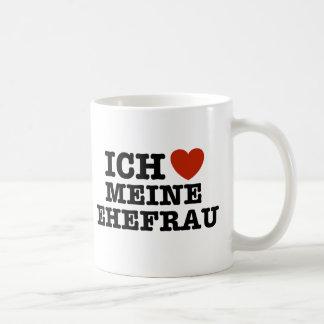 Ich Liebe Meine ehefrau Coffee Mug