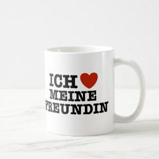 Ich Liebe Meine Freundin Coffee Mug