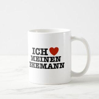 Ich Liebe Meinen Ehemann Coffee Mugs