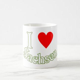 Ich liebe Sachsen Kaffee Tassen