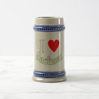 Ich liebe Sachsen Kaffeetassen