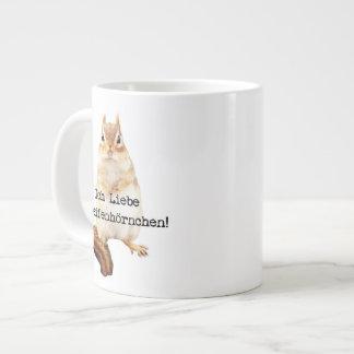 Ich Liebe Streifenhörnchen! Extra Large Mug