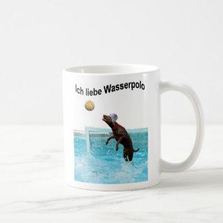 Ich liebe Wasserpolo Basic White Mug