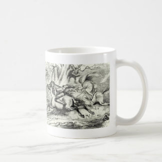 Ichabod Crane Running Away Coffee Mug