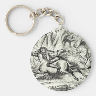Ichabod Crane Running Away Key Chains