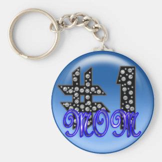 ichi-ban mama 3 basic round button key ring