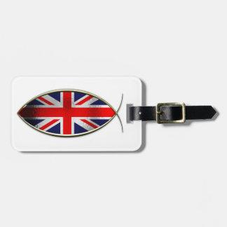 Ichthus - British Flag Bag Tag