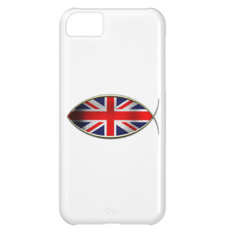Ichthus - British Flag Cover For iPhone 5C