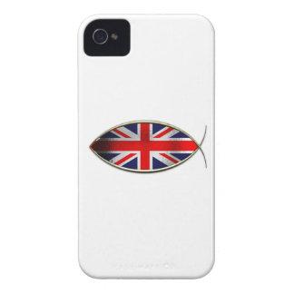 Ichthus - British Flag iPhone 4 Cover