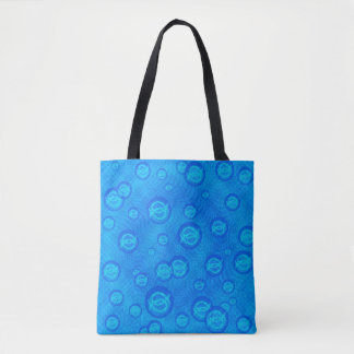 Ichthus Bubbles Tote Bag