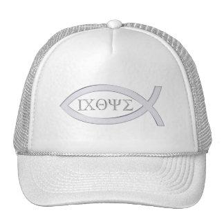 Ichthus - Christian Fish Symbol Trucker Hat