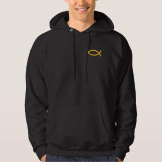 Ichthus - Christian Fish Symbol Hoodie