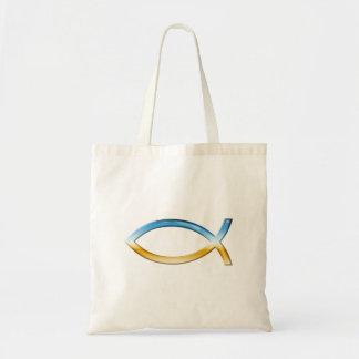 Ichthus - Christian Fish Symbol  Sky & Ground