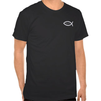 Ichthus - Christian Fish Symbol Tee Shirt