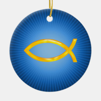 Ichthus - Christian Ornament