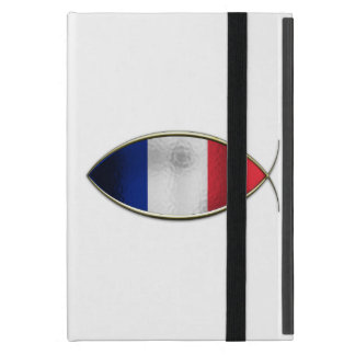 Ichthus - French Flag Case For iPad Mini