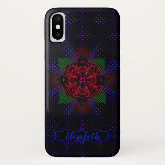 Ichthus Rose iPhone X Case