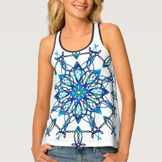 Ichthus Snowflake Tank Top