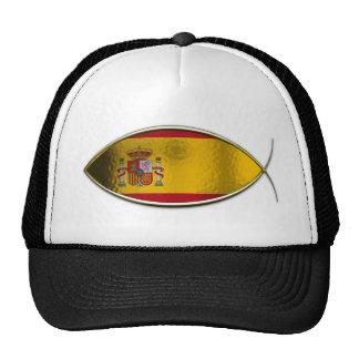 Ichthus - Spanish Flag Cap
