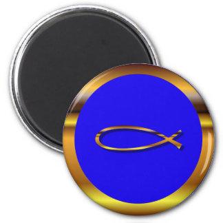 Ichthys Blue-Gold Magnet