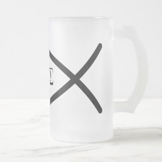 Ichthys Frosted Glass Mug