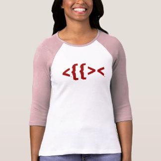 Ichthys (<{{><) t shirt
