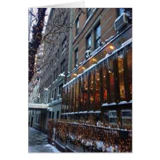 Icicles New York City Card