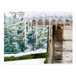 Icicles on the Barn Post Cards