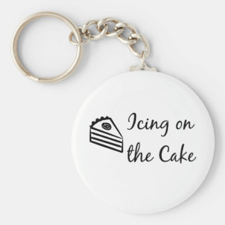 Icing on the Cake Key Ring