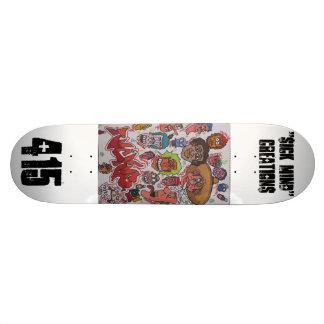 iCk MiNd CrEaTiOn fat wood Skateboard Deck