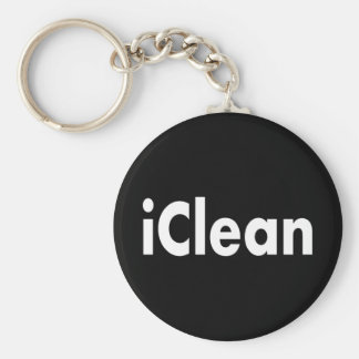 iClean Basic Round Button Key Ring