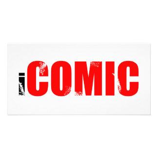 iCOMIC Customized Photo Card