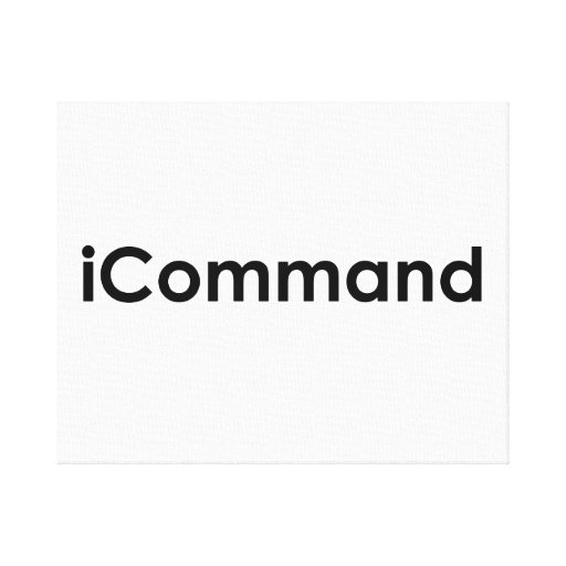 iCommand Marching Band Commander Canvas Print