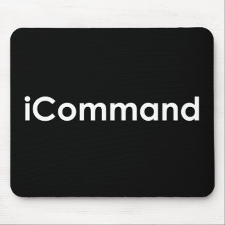iCommand Marching Band Commander Mouse Pads