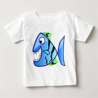 icon-27971  icon blue fish theme apps piranha CUTE Baby T-Shirt