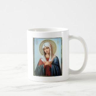 ICON (32)mary mother of good Basic White Mug