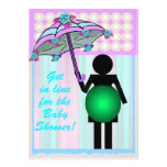 Icon Baby Shower template card Invites