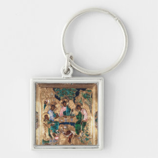 Icon depicting Abraham and the Three Angels Key Chains