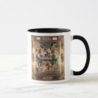 Icon depicting Abraham and the Three Angels Mug