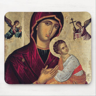 Icon depicting the Holy Mother of the Passion Mouse Pad
