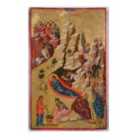 Icon depicting the Nativity Poster