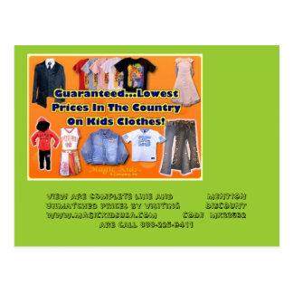 icon, kids clothes picture, Dear Prospective Cu... Postcard